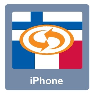Eurotranslator iPhone Suomi-Ranska