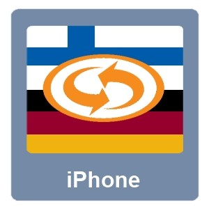 Eurotranslator iPhone Suomi-Saksa
