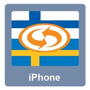 Eurotranslator iPhone Suomi-Ruotsi