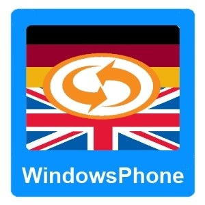 Eurotranslator WindowsPhone saksa-englanti