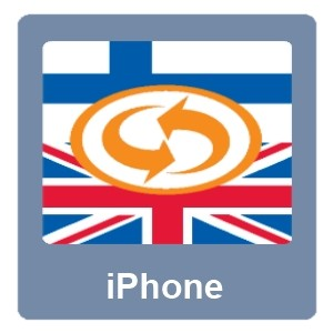 Eurotranslator iPhone Finnish-English